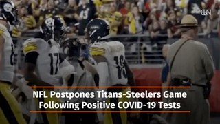 Titans-Steelers Game On Hold