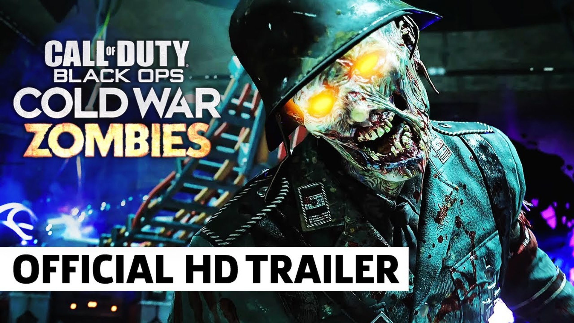 Official Zombies First Look Call Of Duty Black Ops Cold War Video Dailymotion