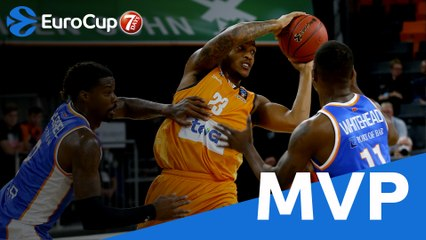 7Days EuroCup Round 1 MVP: Troy Caupain, ratiopharm Ulm