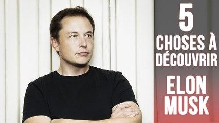 5  secrets sur Elon Musk