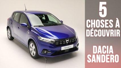 Nouvelle Dacia Sandero, 5 changements à découvrir !
