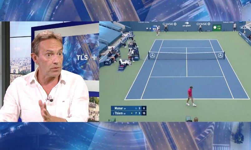 """TLS+ présenté par Laurent Leleux """"Tennis version Covid, une pause bénéfique?"""" invité Benoit Maylin TELESUD 25/09/20"""