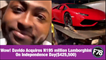 F78NEWS: Wow! Davido Acquires N195 million Lamborghini On Independence Day($425,500).