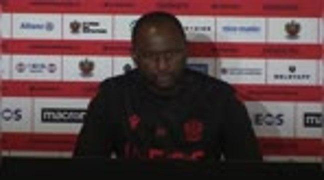 """Nice - Vieira : """"On manque de réussite"""""""