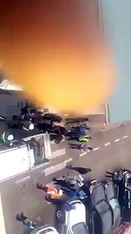 Le vice-ministre des hydrocarbures Moussa Mondo  : on le voit sur cette vidéo aux commandes d'une opération d'enlèvement d'un travailleur de Vodacom