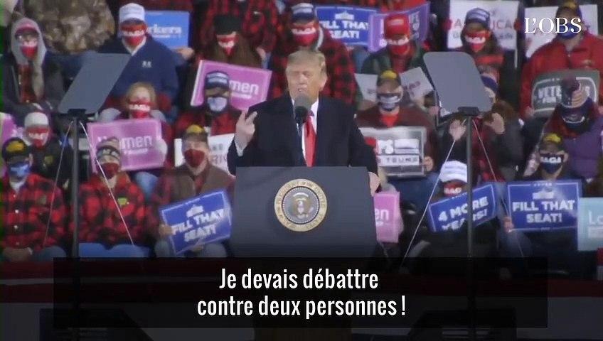 Donald Trump et Joe Biden refont le match du premier débat (et c'est violent)