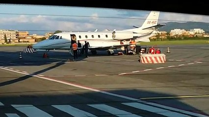 L'arrivo di Pereira a Ciampino