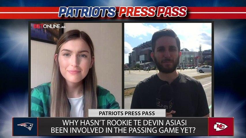 Should the Patriots Unleash Devin Asiasi Against Chiefs? | Patriots Press Pass