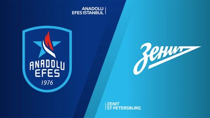 EuroLeague 2020-21 Highlights Regular Season Round 1 video: Efes 69-73 Zenit