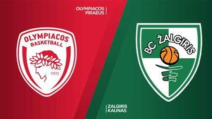 EuroLeague 2020-21 Highlights Regular Season Round 1 video: Olympiacos 67-68 Zalgiris