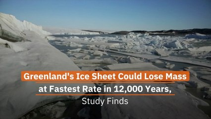 Greenland's Ice Sheet Is Not In Good Shape