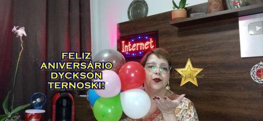FELIZ ANIVERSÁRIO DYCKSON!