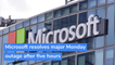 Microsoft resolves major Monday outage after five hours, and other top stories in technology from October 02, 2020.