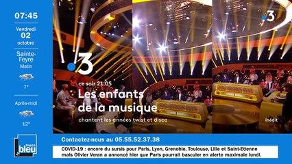 La matinale de France Bleu Creuse du 02/10/2020