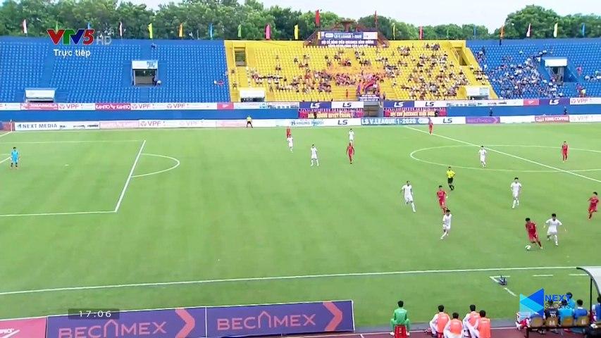 Highlights - Becamex Bình Dương – Viettel - Tiến Linh, Tấn Tài mừng sinh nhật HLV Park - NEXT SPORTS