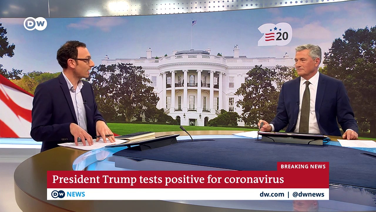 What are the political ramifications of Trump's coronavirus infection- – DW News