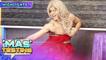 Kokoy dances 'Tala' in a red dress   It's Showtime Mas Testing