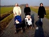 Marie, Julie, Marguerite, Clémence, Muttie et ... moi !