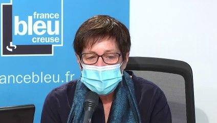 La maire de Guéret, Marie-Françoise Fournier