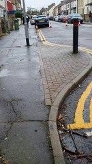 Cromwell Road Police cordon