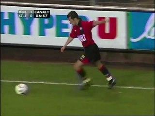 06/02/01 : Augusto Cesar (7') : Rennes - Saint-Étienne (3-1)