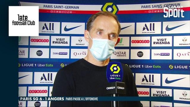 La réaction de Thomas Tuchel après PSG / Angers