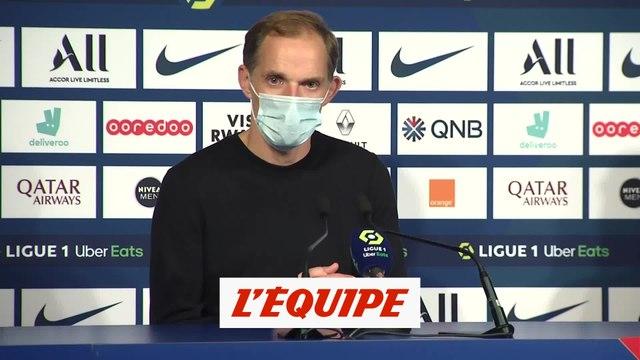Tuchel : «Marquer donne beaucoup de confiance» - Foot - L1 - PSG