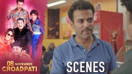 08 November Croadpati Movie Scenes | Gullu Dada gang ran out of money | Silly Monks Deccan