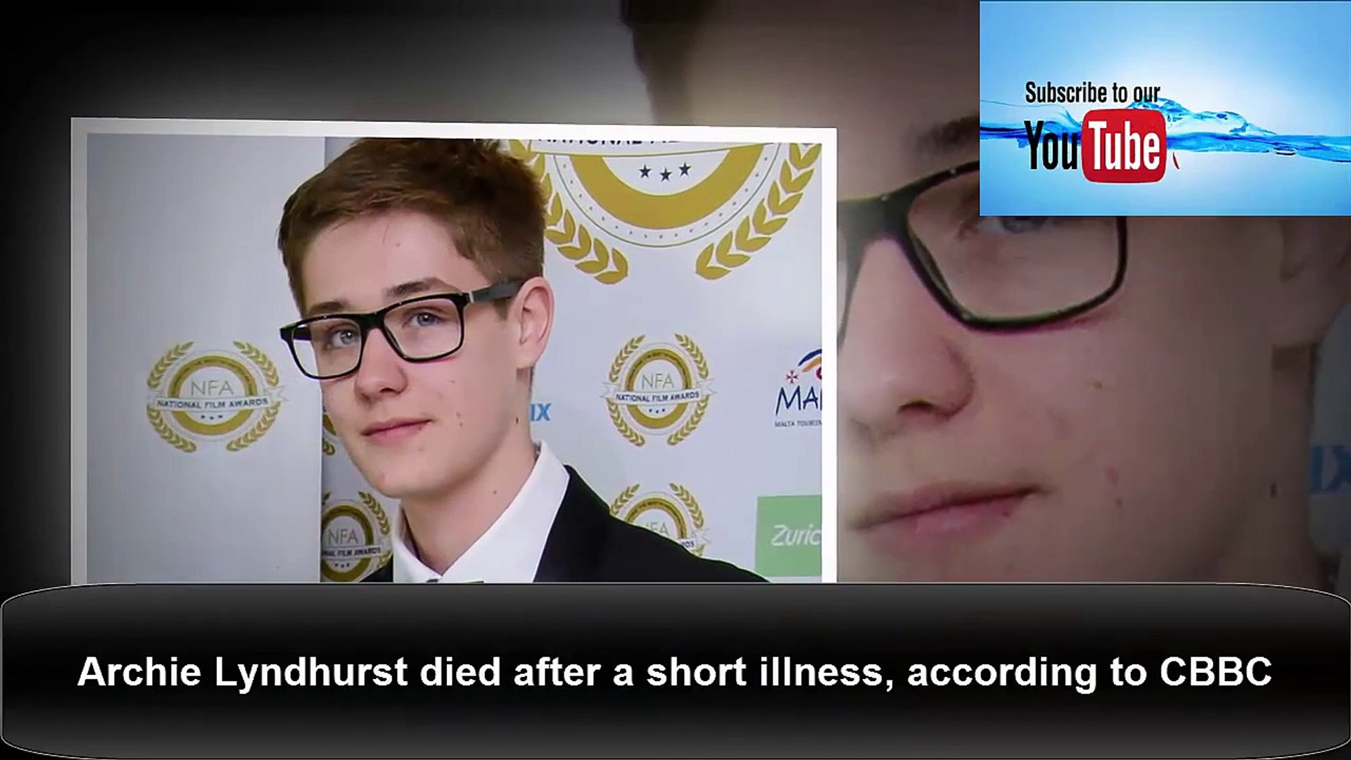Archie Lyndhurst Star Of So Awkward And Son Of Actor Nicholas Lyndhurst Dies At 19 Video Dailymotion