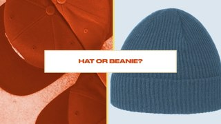 Either, Or: Do Skateboarders Prefer Wearing a Hat or Beanie?