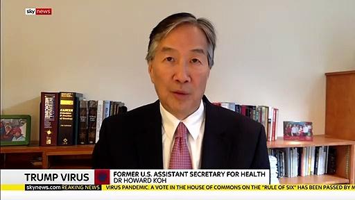Donald Trump has 'no coronavirus symptoms', his doctor says