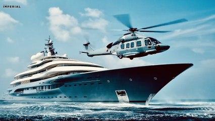 World's Largest Super Yacht Charter ~ Flying Fox Mega Yacht