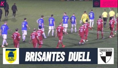 BrisantesPokal-Halbfinale | 1. FC Düren - SC Borussia Freialdenhoven (Halbfinale, Kreispokal Düren)