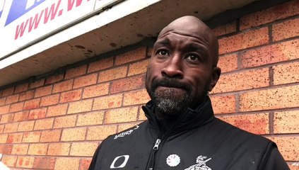 Darren Moore on Doncaster Rovers' defeat at Wigan Athletic