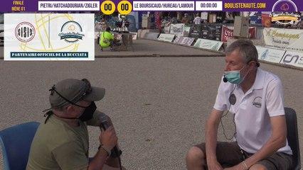 Grosse Finale HATCHADOURIAN vs LE BOURSICAUD : International à pétanque de Bastia août 2020