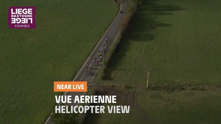 Vue aérienne / Helicopter view - Liège-Bastogne-Liège Femmes 2020