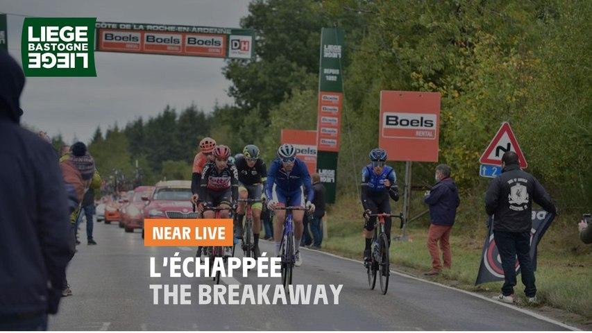 L'échappée / The breakaway - Liège-Bastogne-Liège 2020