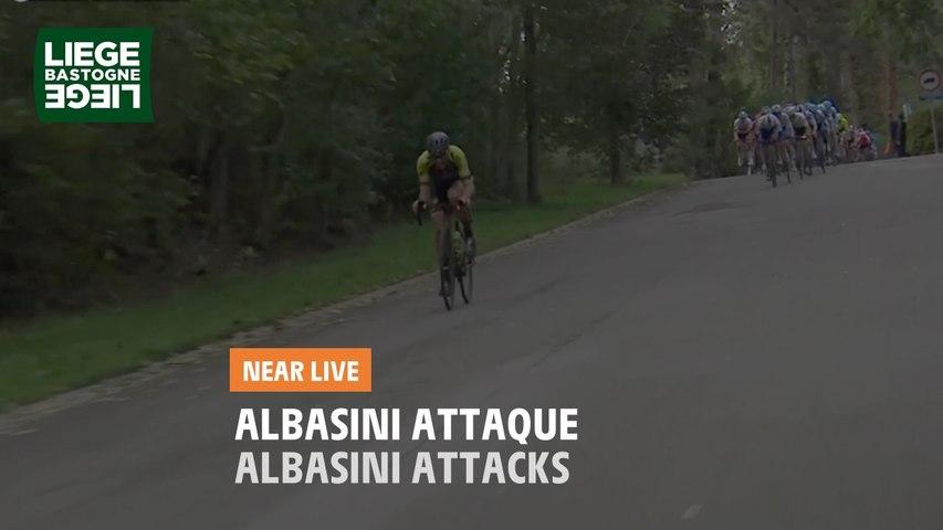 Albasini attaque / Albasini attacks - Liège-Bastogne-Liège 2020