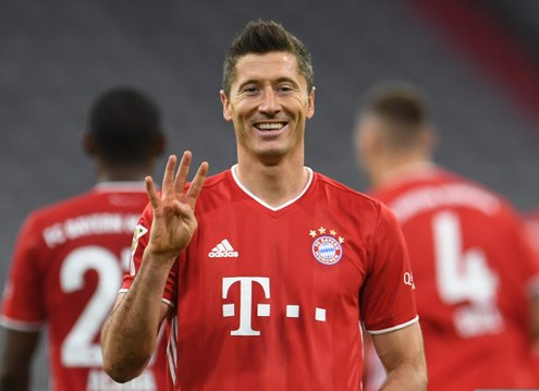 Bundesliga - Lewandowski 4 - Hertha 3 !