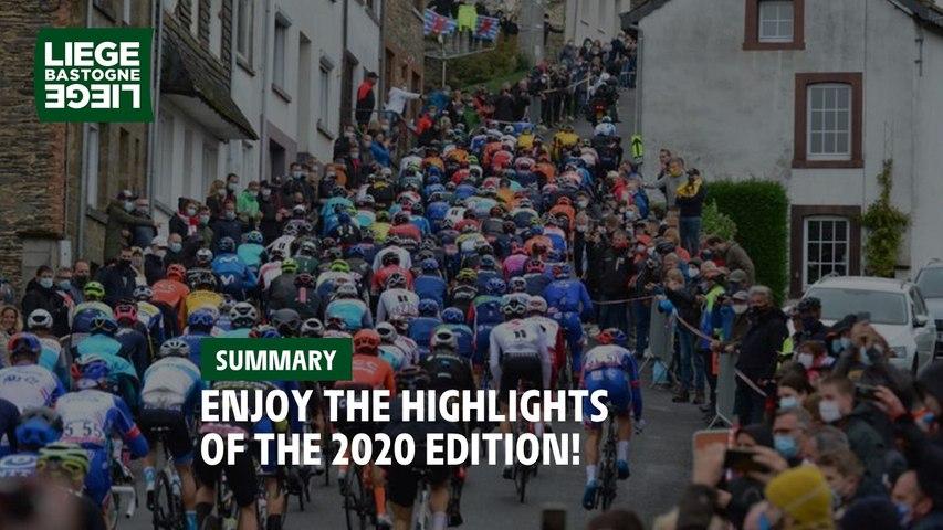 Highlights - Liège-Bastogne-Liège 2020