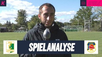 Die Spielanalyse | BSG Chemie Leipzig U17 – BSG Strahl Riesa U17 (2. Runde, Landespokal)