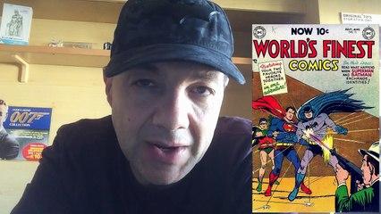 Batman e Superman su Worlds finest comics 71 - 1954