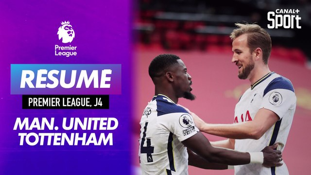 Le résumé de Manchester United - Tottenham en VO