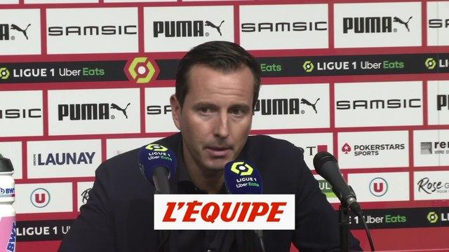 Stéphan : «C'est un demi-résultat» - Foot - L1 - Rennes