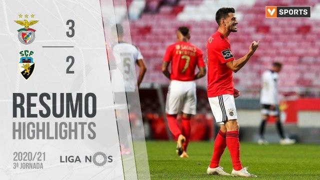 Highlights: Benfica 3-2 SC Farense (Liga 20/21 #3)