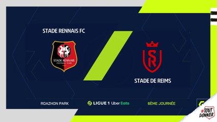 J6. Stade Rennais F.C. / Reims : résumé