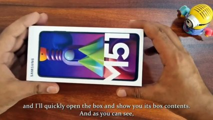 Samsung Galaxy M51 new mobile! m51 Samsung m51 galaxy! m51 full camera review! m 51 unboxing