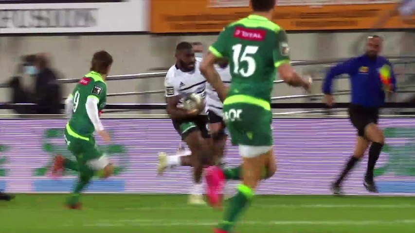 Rugby : Video - Résumé - CA Brive - Section Paloise  - J3 Top14 2020 /2021