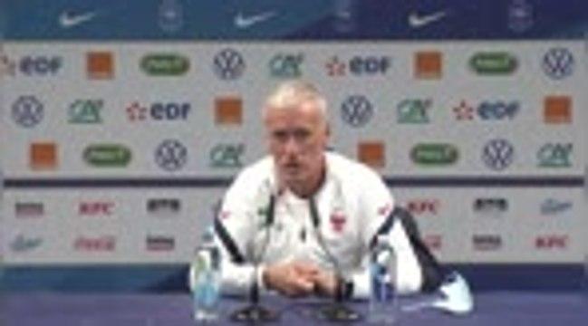 """Bleus - Deschamps : """"Koundé pourrait être amené à intégrer le groupe France"""""""