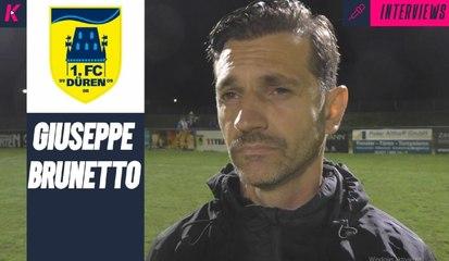 FCD-Trainer Giuseppe Brunetto blickt hoffnungsvoll in die Zukunft